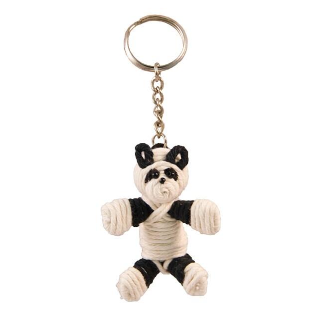 Yarn Panda Keychain (Colombia)