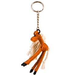 Yarn Horse Keychain (Colombia)