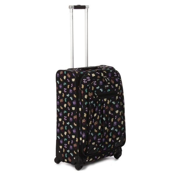 Nicole Miller 'Conversation' 28-inch Expandable Spinner Upright