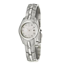 Seiko Women's 'Dress' Stainless Steel Quartz Diamond Watch