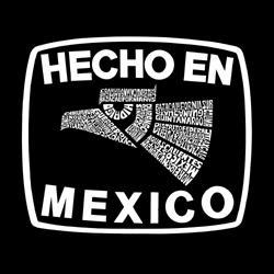 Los Angeles Pop Art Men's 'Made in Mexico' Hoodie