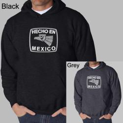 Los Angeles Pop Art Men's 'Made in Mexico' Hoodie