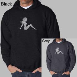 Los Angeles Pop Art Men's Mudflap Girl Hoodie