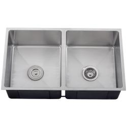 Ticor Stainless Steel 16-gauge Square Undermount Kitchen Sink