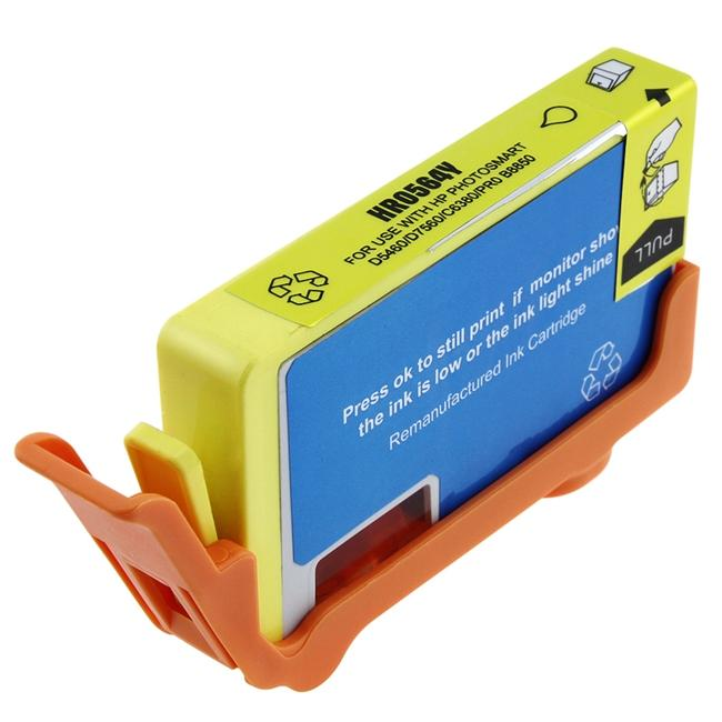 Yellow Ink Cartridge for HP 564XL/ CB325WN (Remanufactured)