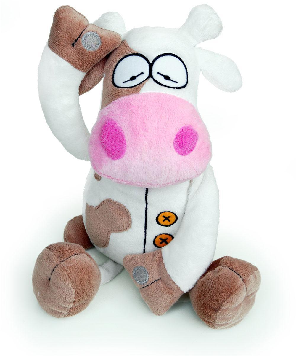 Boogaloo Carlo Cow Booga-Bud Stuffed Animal Educational Toy