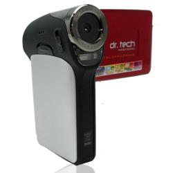 HDDV2000 Red Video Camera with 2GB MicroSD Card