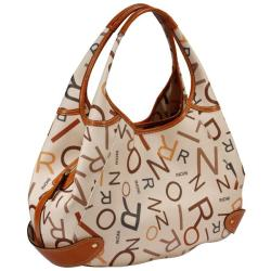Rioni Medley Cream Canvas Hobo Bag