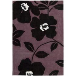 Hand-tufted Metropolitan Purple Rug (8' x 10'6)