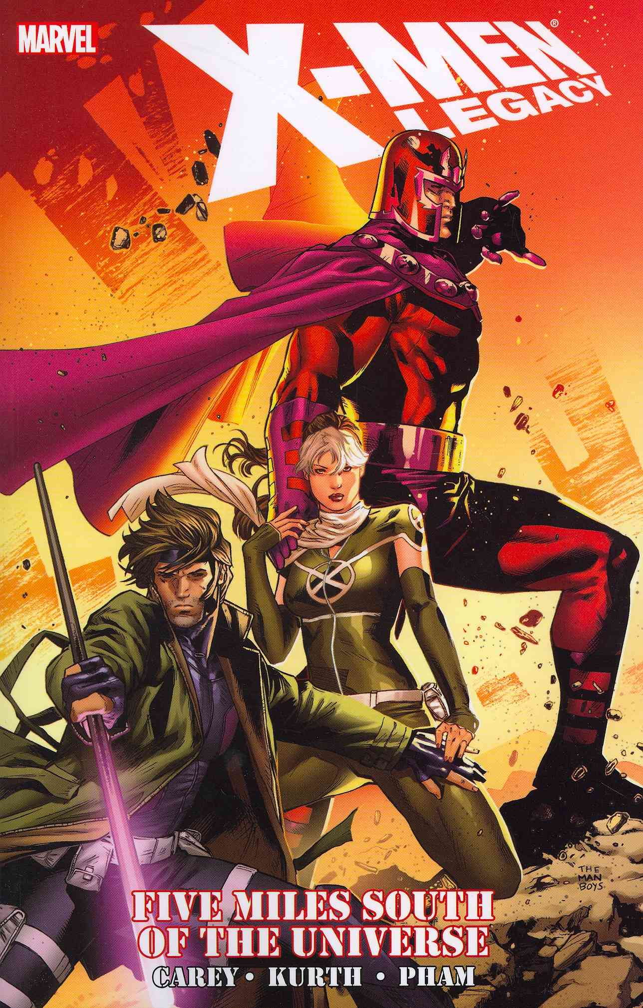 X-Men Legacy: Five Miles South of the Universe (Paperback)