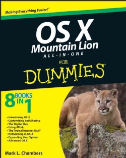 OS X Mountain Lion All-in-One for Dummies (Paperback)