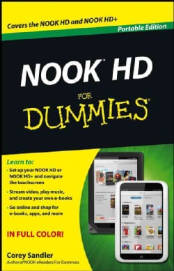 NOOK HD for Dummies: Portable Edition (Paperback)