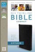 Holy Bible: New International Version, Black, Bonded Leather, Thinline Zippered Collection Bible (Paperback)