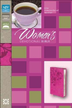 Women's Devotional Bible: New International Version Raspberry Italian Duo-Tone (Paperback)
