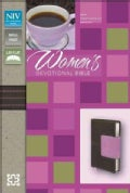 Women's Devotional Bible: New International Version Chocolate / Orchid Italian Duo-Tone (Paperback)