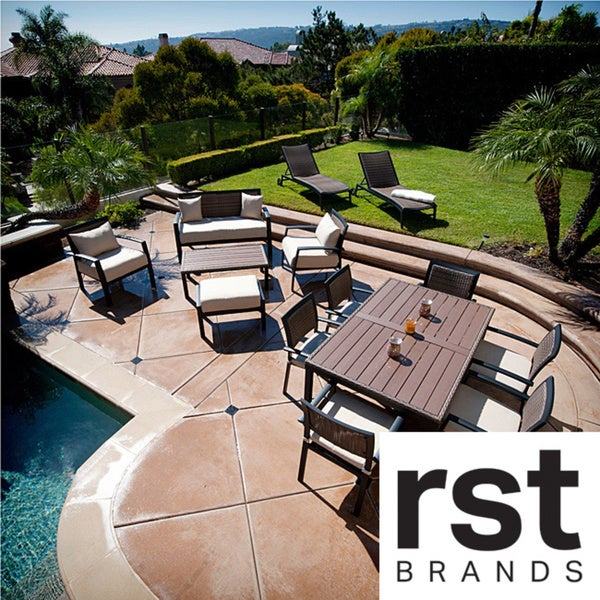 RST Brands Zen 14-piece Sanctuary Outdoor Patio Set