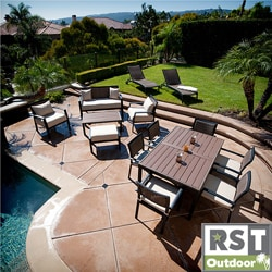 RST Zen 14-piece Sanctuary Outdoor Patio Furniture