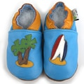 Beach Bum Soft Sole Leather Baby Shoes
