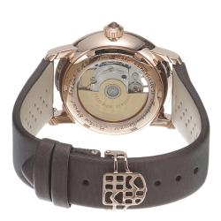 Frederique Constant Women's 'LadiesAutomatic' Brown Diamond Dial Watch