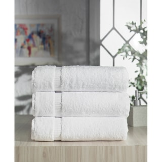 Salbakos CambridgeTurkish Cotton Bath Towel (Set of 3)