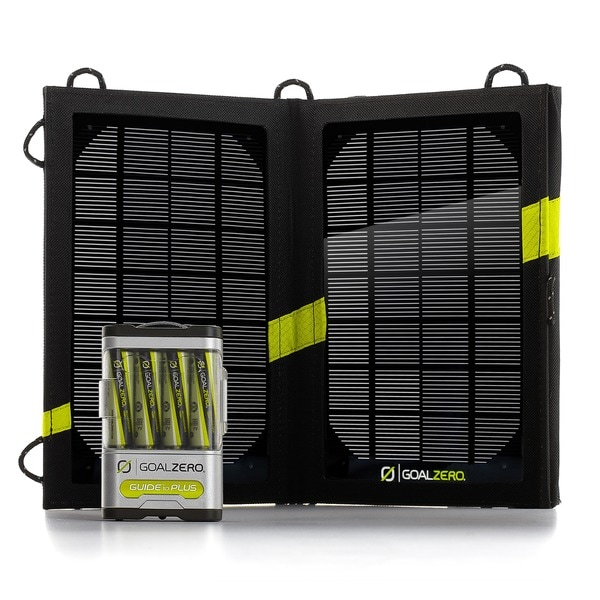 Goal Zero Guide 10 Plus Adventure USB Solar Charging Kit