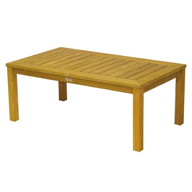 Hyannis 48-inch Rectangular Teak Coffee Table