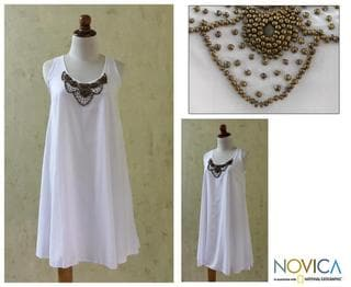Rayon 'Majapahit Sophistication' Dress (Indonesia)
