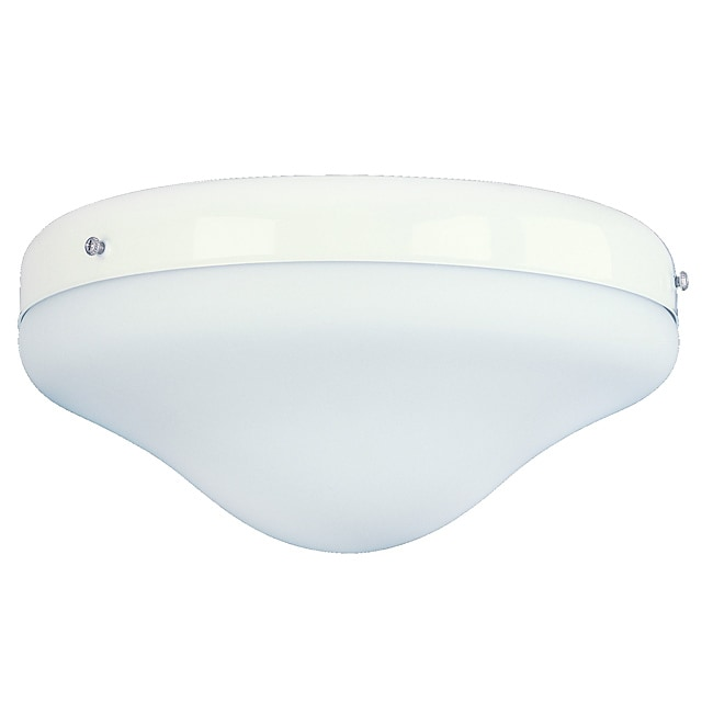 Two-light White Fixture Light Kit