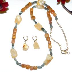 Unforgettable Necklace and Earrings by Susen Foster (United States)