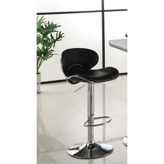 Furniture of America Ella Modern Design Leatherette Bar Stool