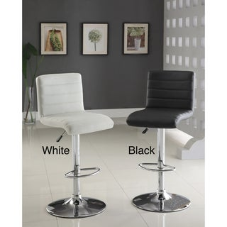 Furniture of America Winzzy Hydraulic Bar Stool