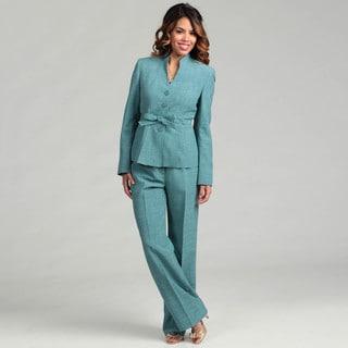 Evan Picone Women's 4-button Pant Suit FINAL SALE