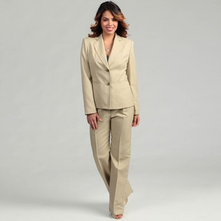 Evan Picone Women's Sage 2-button Pant Suit