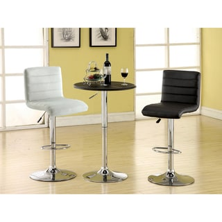 Modern Leatherette Bar Table