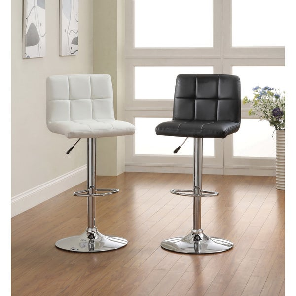 Furniture Of America The Comfy Doris Leatherette Bar Stool Overstock Shopping Great Deals On
