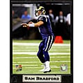 St. Louis Rams Sam Bradford Stat Plaque