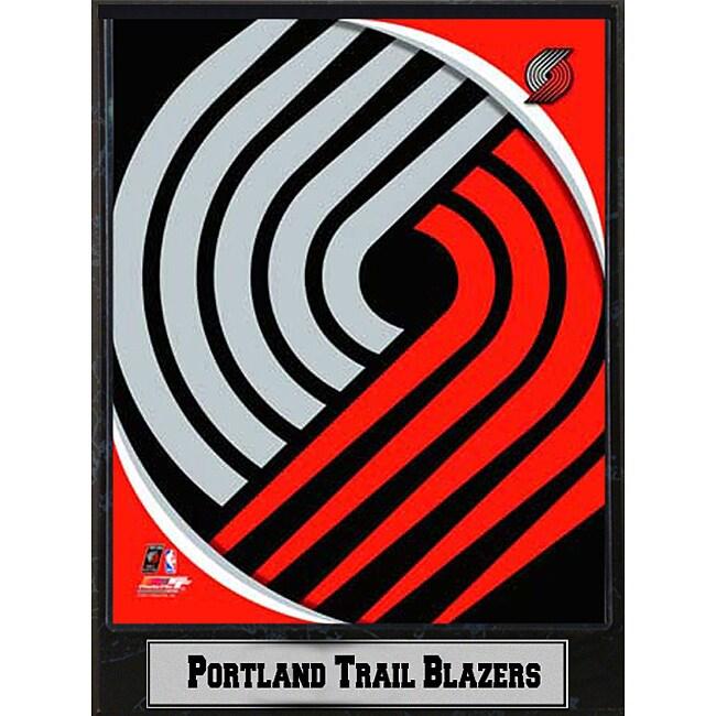 Portland Trail Blazers 2011 Logo Plaque