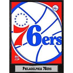 Philadelphia 76ers 2011 Logo Plaque