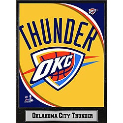 Oklahoma City Thunder 2011 Logo Plaque
