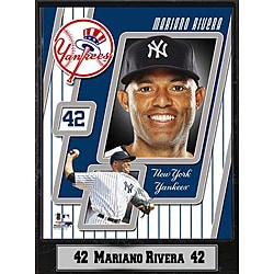 New York Yankees Mariano Rivera Stat Plaque