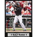 Florida Marlins Hanley Ramirez Stat Plaque