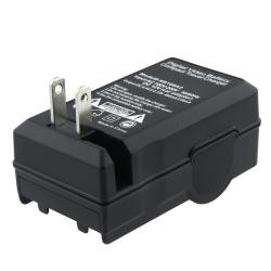 BasAcc Compact Battery Charger Set for Canon LP-E5