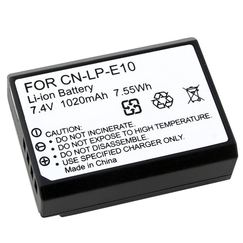 INSTEN Compatible Li-ion Battery for Canon LP-E10