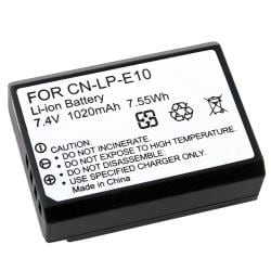 BasAcc Compatible Li-ion Battery for Canon LP-E10