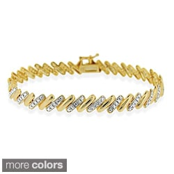DB Designs Sterling Silver Diamond Accent San Marco Bracelet