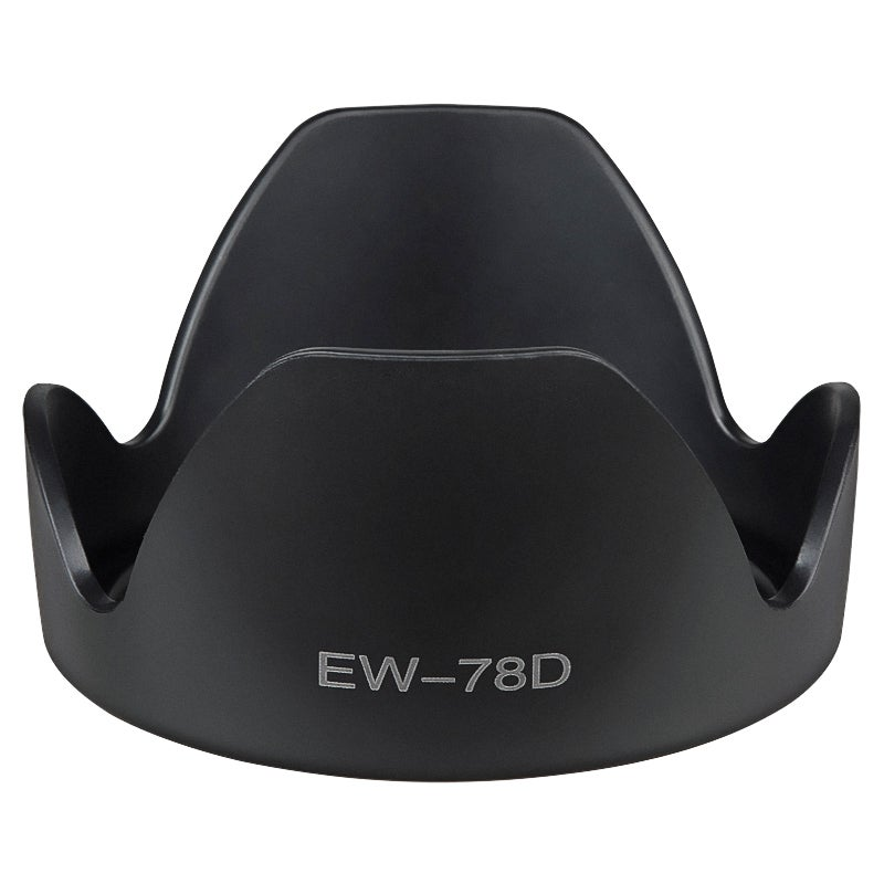 INSTEN 80-mm Crown Replacement Lens Hood for Canon EW-78D