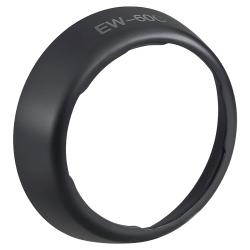 BasAcc 80-mm Round Replacement Lens Hood for Canon EW-60C