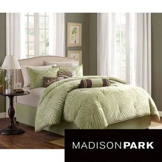 Madison Park Bermuda Sage 7-piece Comforter Set