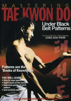 Mastering Tae Kwon Do: Under Black Belt Patterns (DVD)