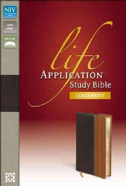 Life Application Study Bible: Chocolate / Tan Italian Duo-Tone (Paperback)